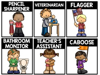 Can I Get a Job Please?! {Classroom Job Cards}