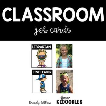 Can I Get a Job Please?! {Classroom Job Cards}
