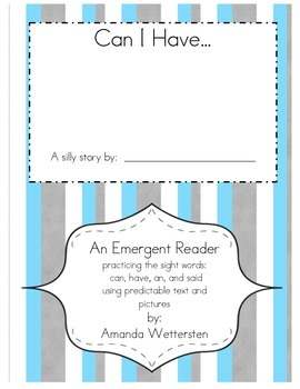 Can I Have Emergent Reader