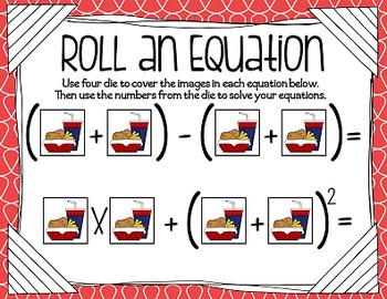 Can I Take Your Order? {An Order of Operations Unit}