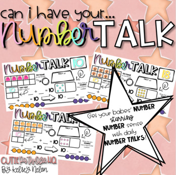 Can I Have Your NUMBER TALK!? {1st Grade//Set Two}