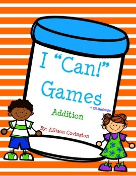 """I """"Can!"""" Addition"""