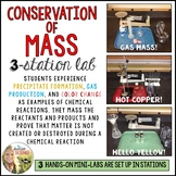 Conservation of Matter / Mass : 3 Station Lab