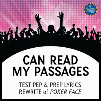 Reading Test Song Lyrics for Poker Face
