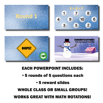 Can You Build A Snowman? Math Warm-Up | Addition and Subtraction ( 1 to 20 )