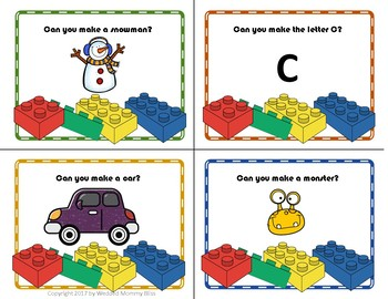 Can You Build It? Task Cards