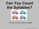 Can You Count the Syllables? (for Mimio)