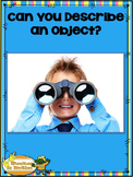 Can You Describe an Object? – Songbook Mp3 Digital Download, Describing Words