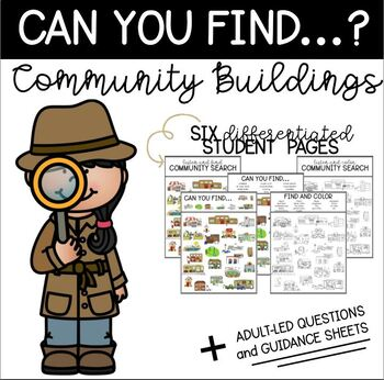 Can You Find: Community Buildings