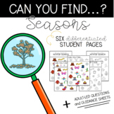 Can You Find: Seasons