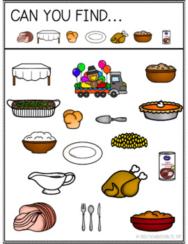 Can You Find: Thanksgiving
