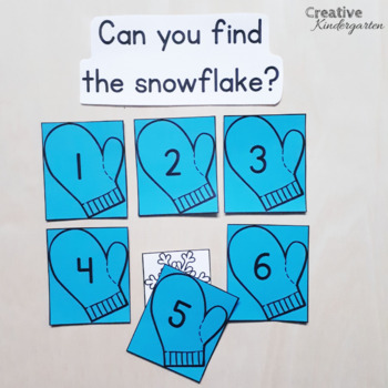 Can You Find The... Math Game for Kindergarten Bundle