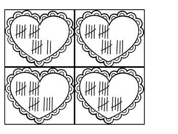 Can You Find the Rose? Valentine's Day Math Game for Kindergarten