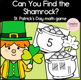 Can You Find the Shamrock? St-Patrick's Day Math Game for