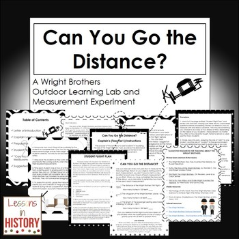 The Wright Brothers - Outdoor Learning Lab and Measurement Experiment