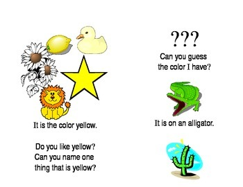 Can You Guess The Color - Printable Reader