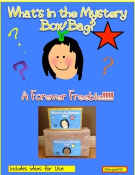 Freebie:  Can You Guess What's in the Box A Tool to Promot