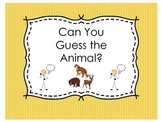 Can You Guess the Animal? An Asking and Answering Questions Game