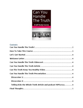 Can You Handle The Truth Self Study Course