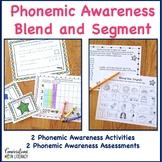 Phoneme Segmentation Activities Blending and Segmenting