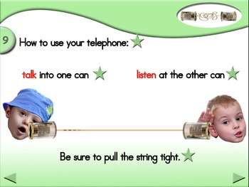 Can You Hear Me Now?  Animated Step-by-Step Science - Regular