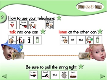 Can You Hear Me Now?  Animated Step-by-Step Science - SymbolStix