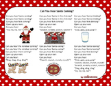 Christmas Song - Can You Hear Santa + Sing-Along Track (mp3)