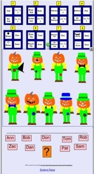 Can You Help These Scarecrows Figure Out Their Names?