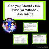 Can You Identify the Transformation? Task Cards