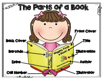 Can You Label the Parts of a Book?