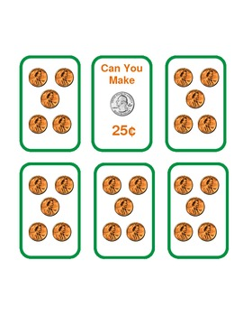 Can You Make 25 Cents Money Game