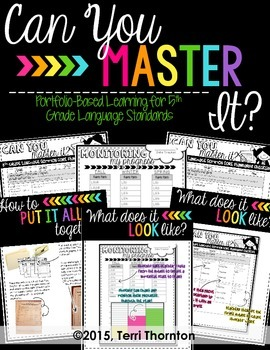Can You Master It?: 5th Grade CC Language Standards Checklist