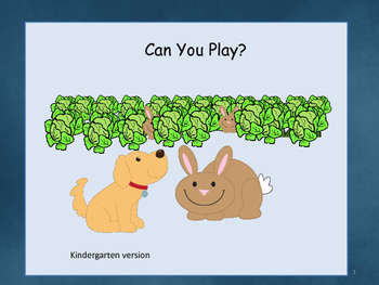 Can You Play with Me?