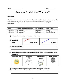 Can You Predict the Weather?