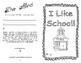 I Like School: Reading and Writing Set Freebie