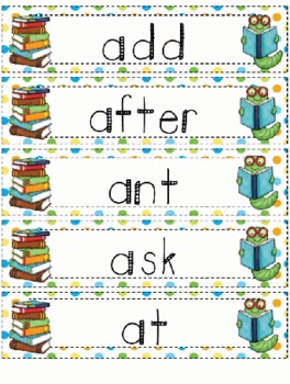 Can You Read It - Short A - Literacy Game Center Station Activity