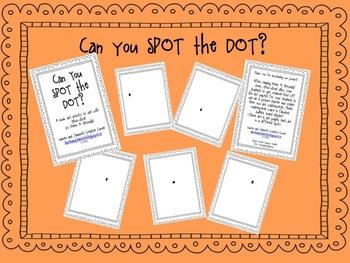 Can You SPOT the DOT? A book art activity.