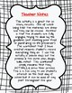 Can You Save Fred? 1st day team building activity worksheet