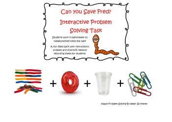 Can You Save Fred Problem Solving Task