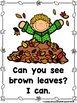 Can You See Fall Colors?  (A Sight Word Color Emergent Reader)
