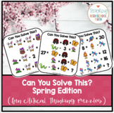 Can You Solve This - Spring Edition - Logic Puzzles - Algebra