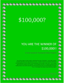 Math - Can You Spend $100,000?