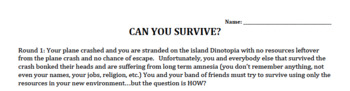 Can You Survive: Nomads to Civilizations simulation (19 guiding questions)
