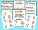 Can You Tell Time? Math Center Activity Game