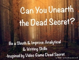 Can You Unearth the Dead Secret? Improve Analytical & Writing Skills