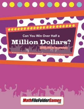 Can You Win Over Half a Million Dollars ($550,000 to be precise)