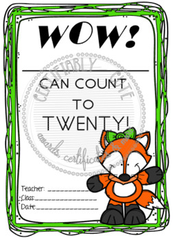 Wow!__ Can count to ten!