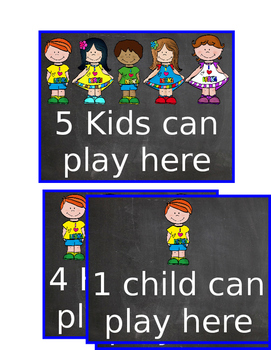 Can play here signs