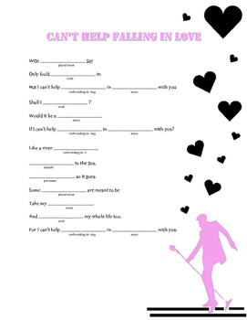 Can't Help Falling in Love: A Valentine's Day Madlib