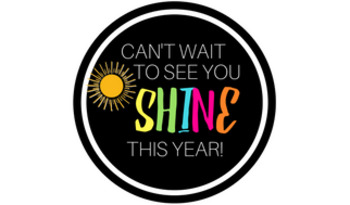 Can't Wait to See You Shine Tag